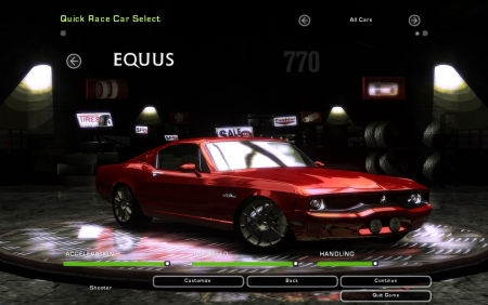 Ford Equus Bass 770 для NFS Underground 2