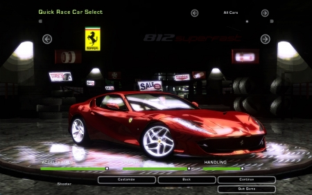 Ferrari 812 Superfast для NFS Underground 2
