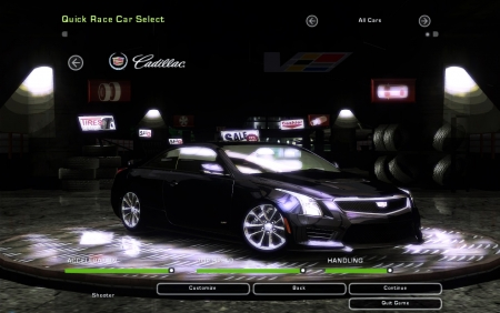 Cadillac ATS-V Coupe для NFS Underground 2