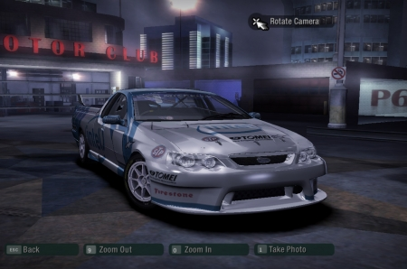 Ford Falcon XR8 Racing для NFS Carbon