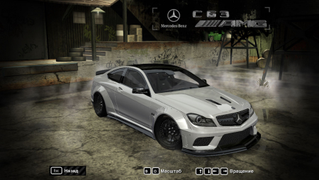 Mercedes-Benz C63 AMG для NFS Most Wanted 2005